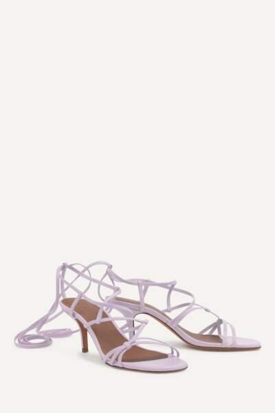 Sandales à lacets, 175€, Ba&sh