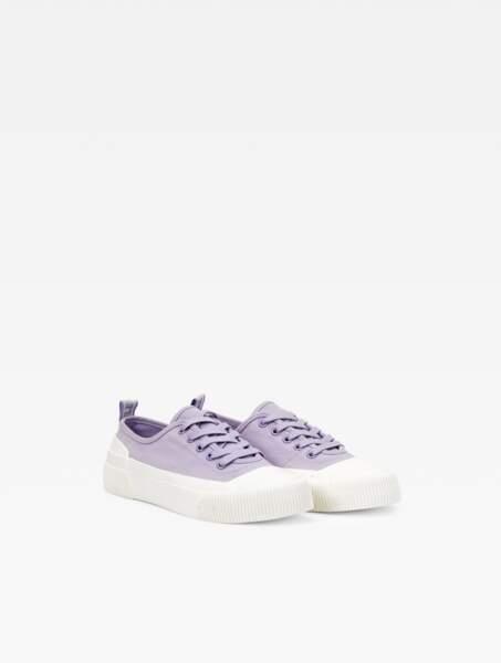 La sneaker en toile et caoutchouc éco-responsable, 40€, Aigle