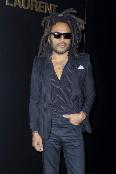 Lenny Kravitz à Paris le 25 février 2020.