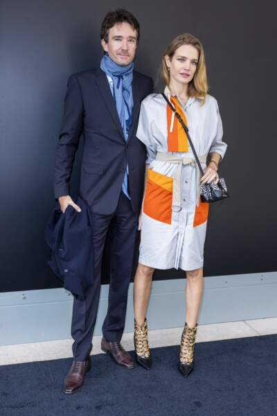 Antoine Arnault et Natalia Vodianova à La Samaritaine à Paris, le 6 octobre 2020