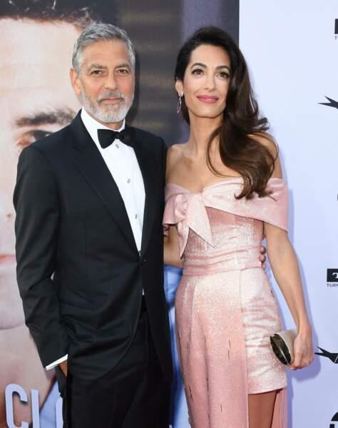 George et Amal Clooney à Los Angeles, le 7 juin 2018