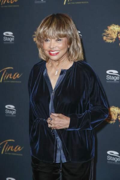 Tina Turner à Hambourg, le 23 octobre 2018