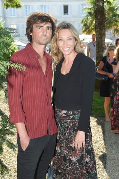 Nicolas Herman et Laura Smet à Angoulême, le 21 août 2018