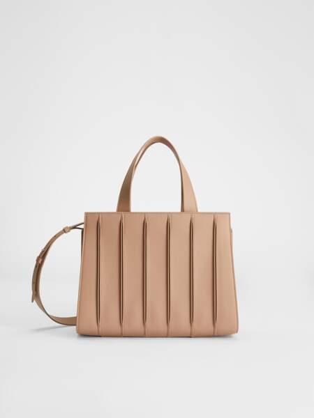 Whitney Bag moyen en cuir souple, 1349€, Max Mara