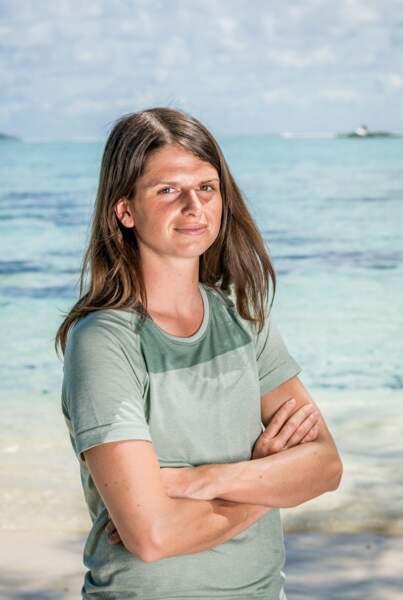 """Clémentine Jullien, 29 ans, était finaliste de """"Koh-Lanta : Cambodge"""" en 2017."""