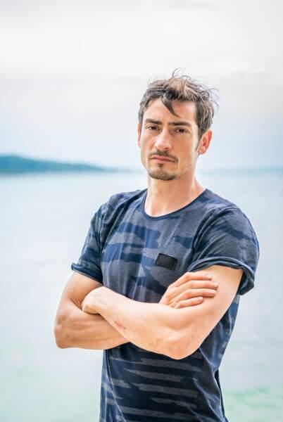 "Claude Dartois, 41 ans, aventurier historique de ""Koh-Lanta"""