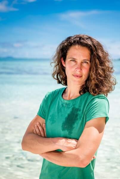"""Clémence Castel, 36 ans, a déjà remporté deux saisons de """"Koh-Lanta""""."""