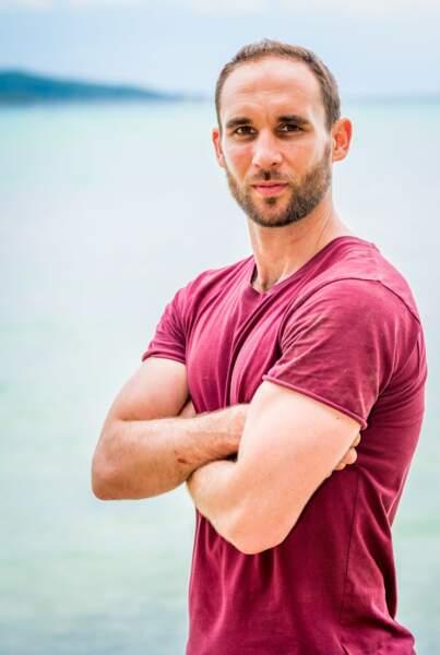 Maxime Berthon, 34 ans, était candidat la même saison que Cindy Poumeyrol.