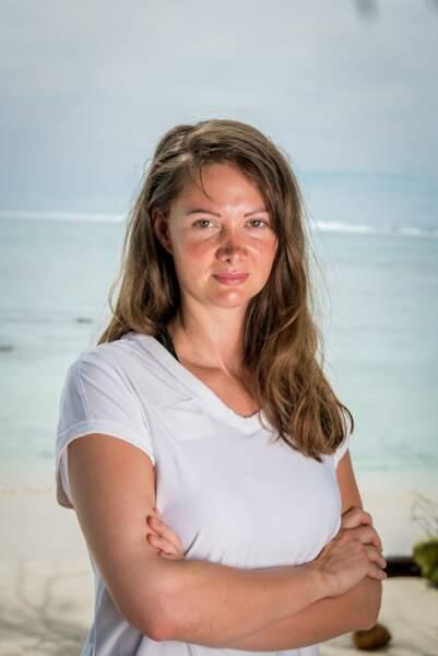 """Alexandra Pornet, 34 ans, grande gagnante de """"Koh-Lanta : les 4 Terres""""."""