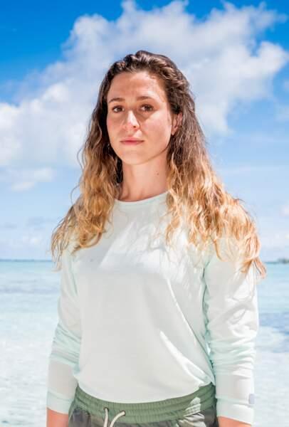 """Candice Boisson, 24 ans, est allée jusqu'à l'orientation en 2016 et a aussi participé à la saison """"Koh-Lanta : le combat des héros""""."""