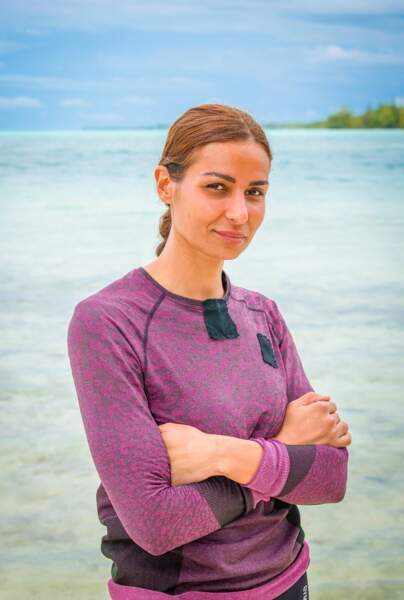 "Karima Najjarine, 32 ans, était candidate de ""Koh-Lanta"" en 2016."