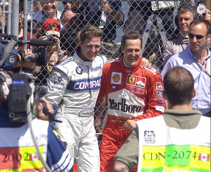 Son frère Ralf Schumacher