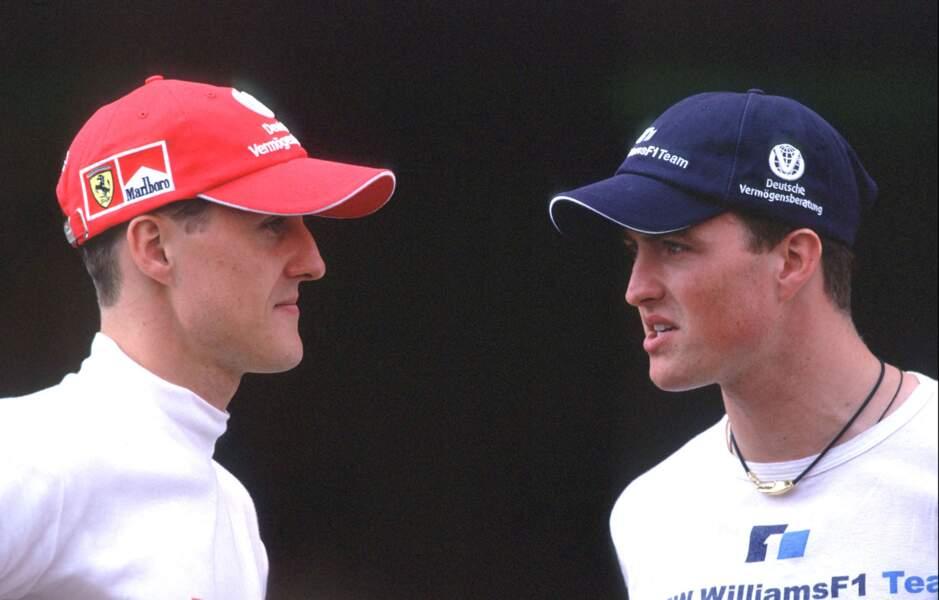 Michael et Ralf Schumacher en 2000