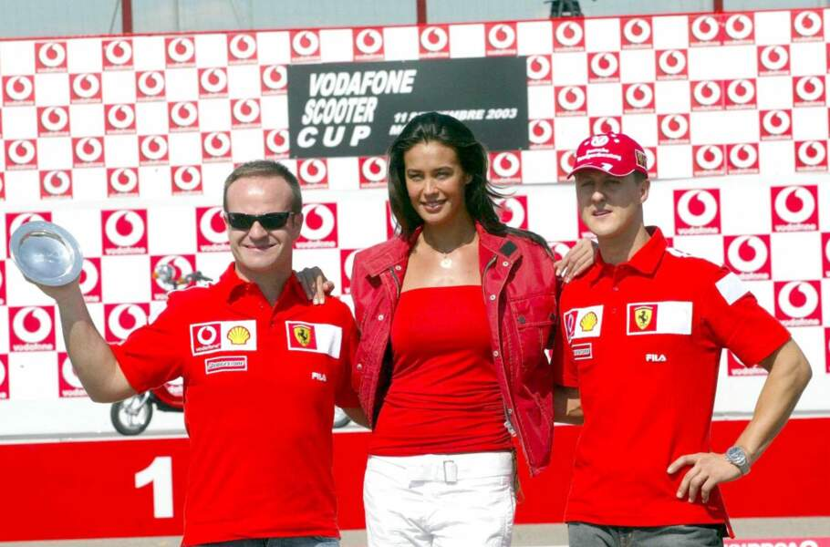 Son ancien équipier Rubens Barrichello