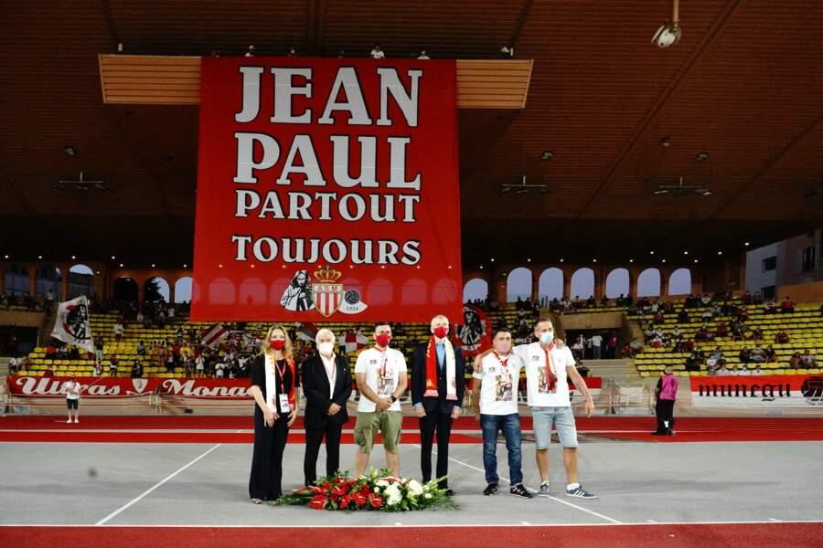 Le président de l'AS Monaco, Dimitri Rybolovlev, était présent pour cet hommage.