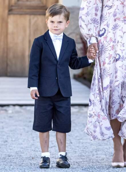 Tout comme le prince Oscar, qui a fêté ses 5 ans en mars dernier.