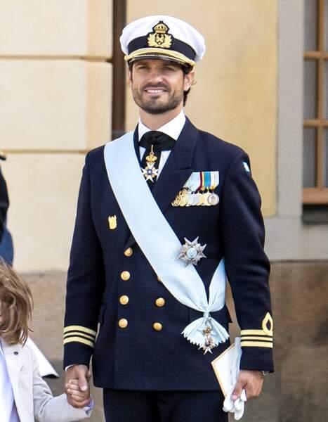 Le prince Julian, troisième fils du prince Carl Philip et de la princesse Sofia de Suède.