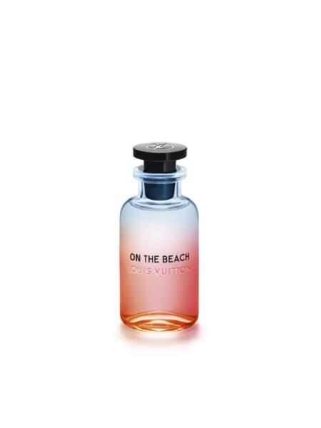 L'éclat du yuzu au zénith sur une plage d'été, On the Beach, Louis Vuitton, 225 € les 100 ml.