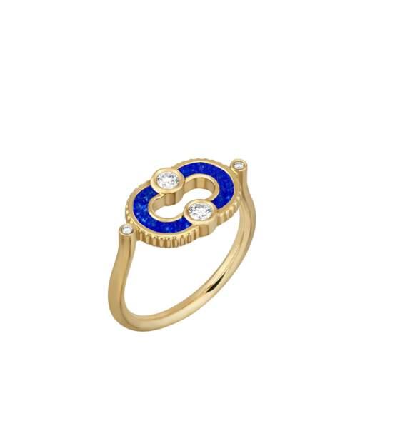 Bague en lapis lazuli Magnetic, Viltier, 2100€.