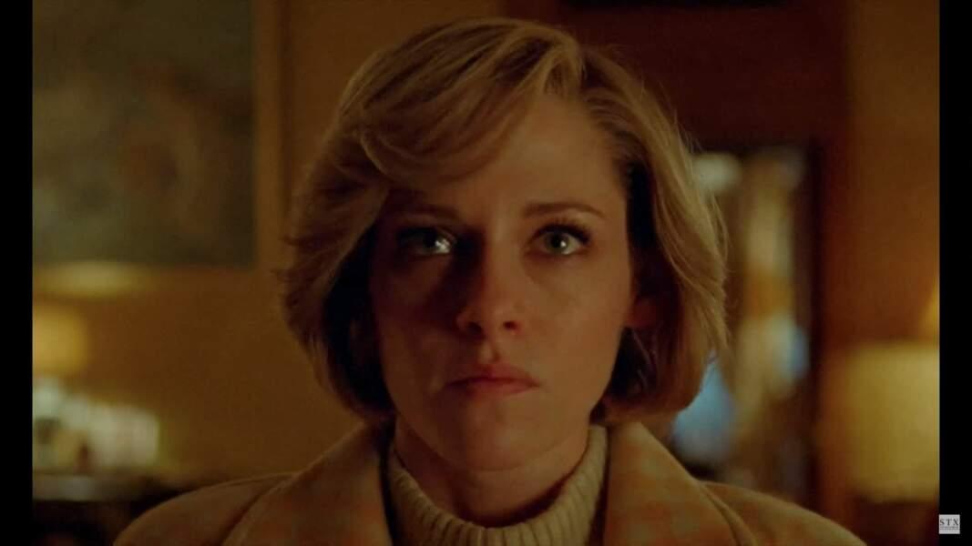 Kristen Stewart incarne la princesse Diana dans Spencer, le 5 novembre au cinéma aux Etats-Unis.
