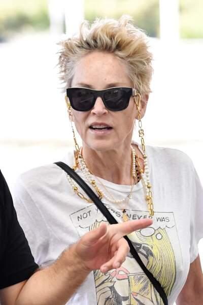 À 63 ans, Sharon Stone fait toujours autant sensation