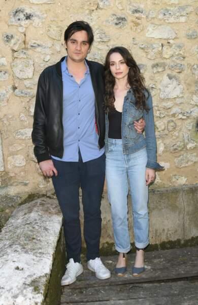 """Alain Fabien Delon et Lola Aubrière pour le film """"Jours sauvages"""" au Festival d'Angoulême."""
