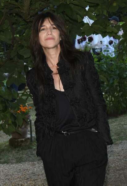 Charlotte Gainsbourg est venue sans ses enfants pour participer au Festival du Film Francophone d'Angoulême, le 27 août