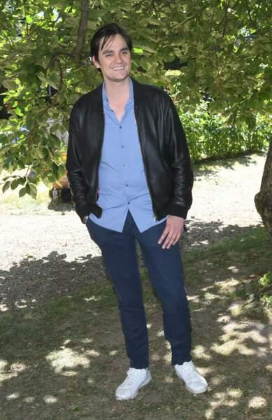 L'acteur Alain-Fabien Delon a participé au Festival d'Angoulême