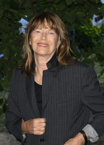 La chanteuse et comédienne de 74 ans a signé plusieurs pochettes de 45 tours au Festival du Film Francophone d'Angoulême, le 27 août