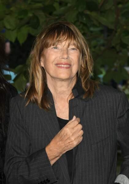 Jane Birkin présente au Festival du Film Francophone d'Angoulême le 27 août