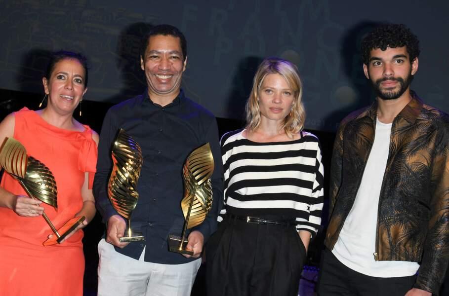 """Leyla Bouzid, Philippe Lacôte, Mélanie Thierry et Sami Outalbali, tous récompensés lors du 14ème festival du film francophone d""""Angoulême."""
