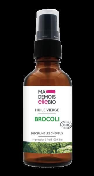 Huile de brocoli, 50 ml, 10,90€, mademoisellebio.com