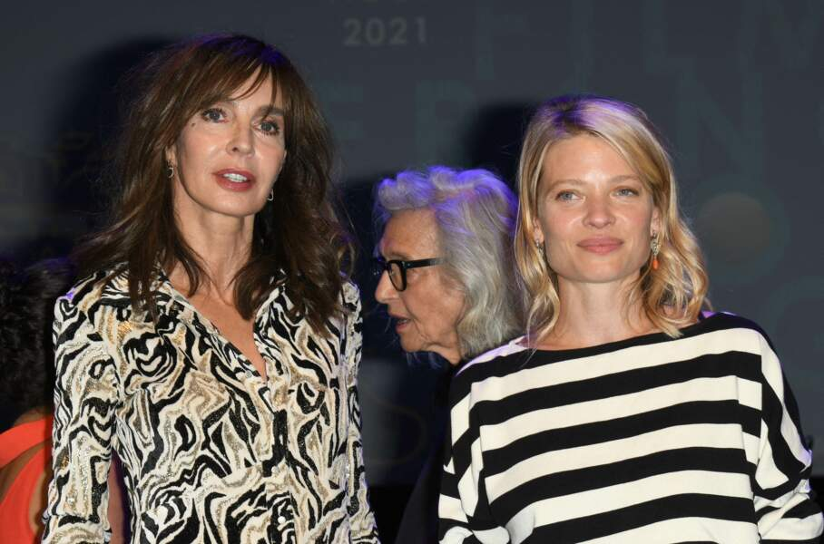 Mélanie Thierry a posé avec Anne Parillaud.