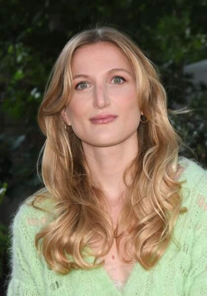 La cascade de cheveux blonds de Johanna Piaton de Turckheim