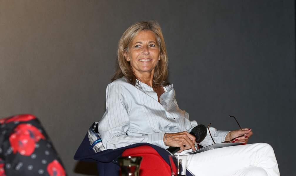 Claire Chazal invitée d'honneur dans le cadre du Festival Series Mania animé par Claire Chazal à Lille le 30 aout 2021