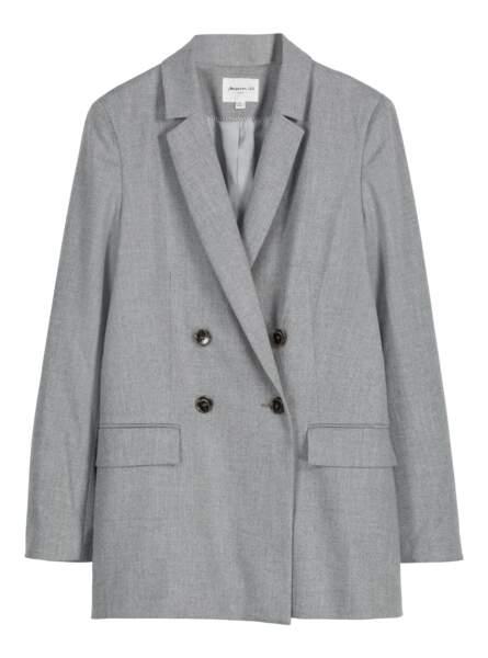 Blazer Florine gris chiné, Maison 123, 189 €