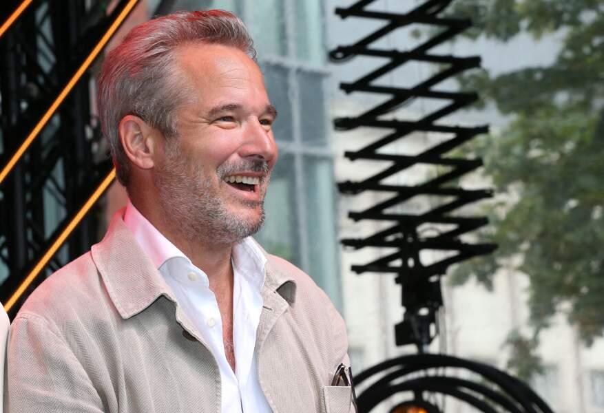 Fabrice Deville, l'acteur de la série Un si grand soleil au Festival Series Mania à Lille, le 30 août 2021