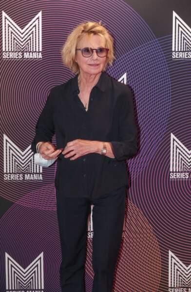 """Miou-Miou à l'avant première du film """"Nona et ses filles"""" lors du Festival Series Mania à Lille le 30 aout 2021."""