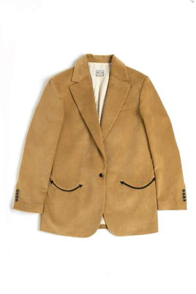 Veste de blazer en velours côtelé, Washington Dee Cee, 750€