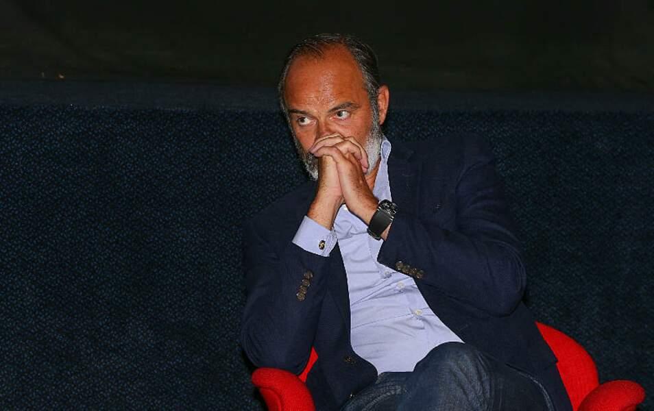 Edouard Philippe a répondu aux questions de Franck Nouchi au Festival Series Mania à Lille, le 30 août 2021.