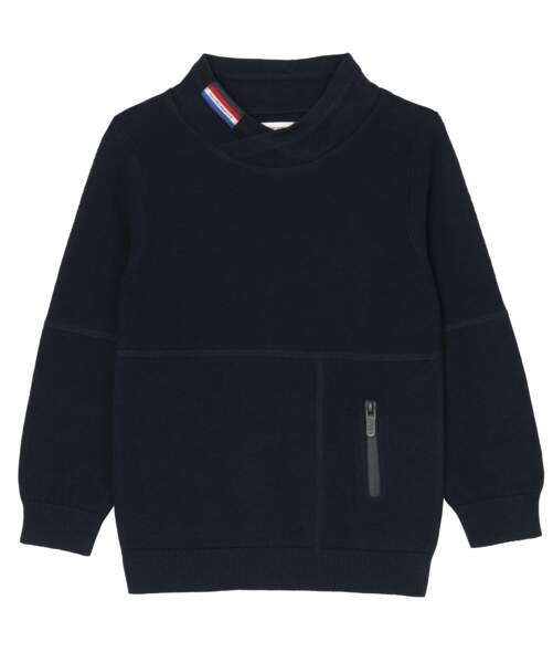 Sweat-shirt 100% coton, 19,99€