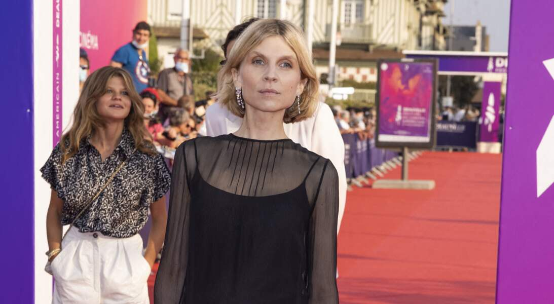 Clémence Poésy est apparue éblouissante lors du festival du cinéma américain de Deauville, le 3 septembre