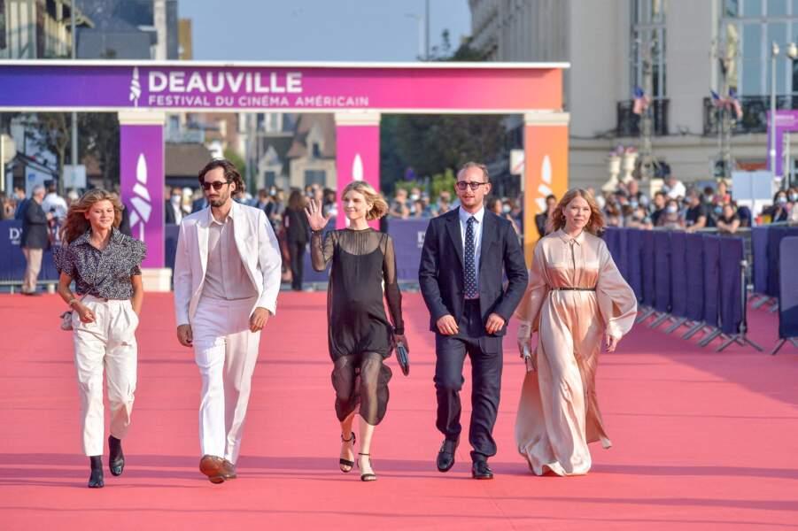 L'équipe de jury présente pour cette 47e édition du festival du cinéma américain de Deauville