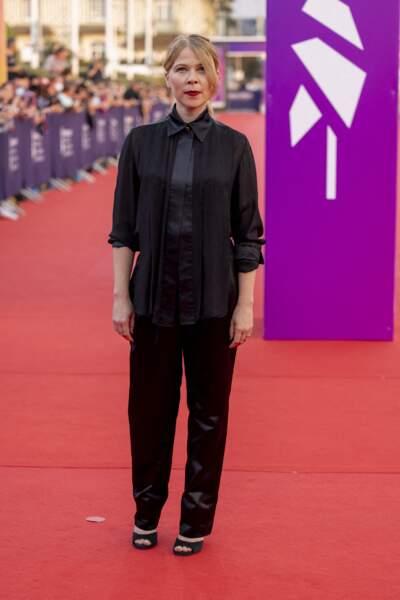 India Hair, membre du jury de la Révélation de cette édition, était présente sur le tapis rouge.