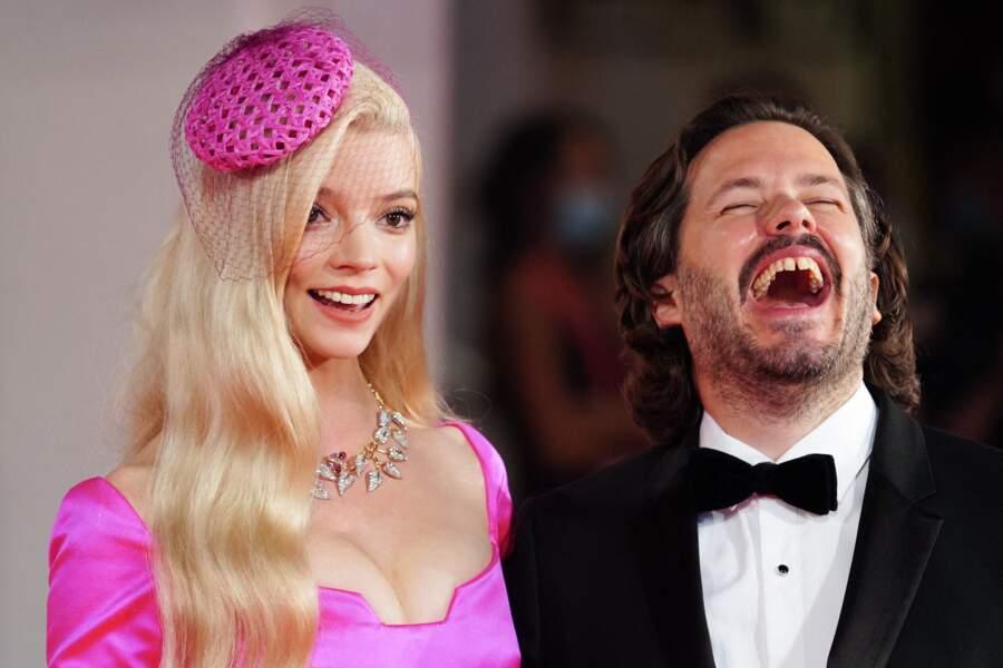 "Anya Taylor-Joy et Edgar Wright à la première du film  ""Last Night in Soho"" lors du festival international du film de Venise"