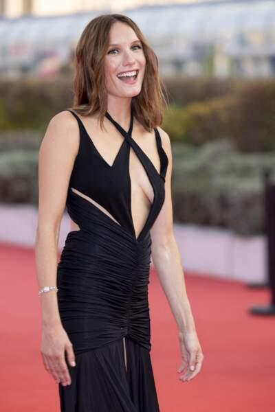 Ana Girardot, actrice principale d'Ogres d'Arnaud Malherbe, à la remise du Prix Nouvel Hollywood.