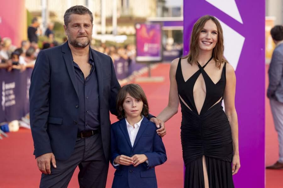 Arnaud Malherbe, Ana Girardot et Giovanni Pucci à la remise du Prix Nouvel Hollywood.