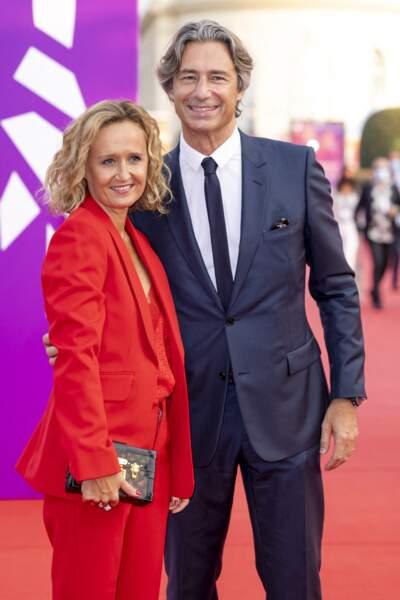 Laurent Solly et sa femme Charlotte Chandellier à la remise du Prix Nouvel Hollywood.