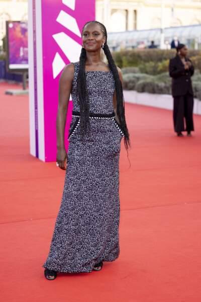 Fatou N'Diaye, star d'OSS 117: Alerte Rouge en Afrique Noire, à la remise du Prix Nouvel Hollywood.