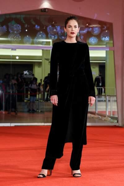 L'actrice Ruth Wilson à la première du film Mona Lisa and the Blood Moon.
